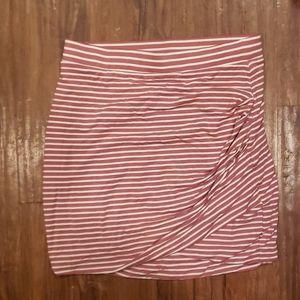 Lovers + Friends Voyage Wrap Mini Skirt